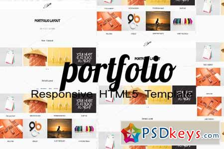 Portfolio Responsive Template 396510