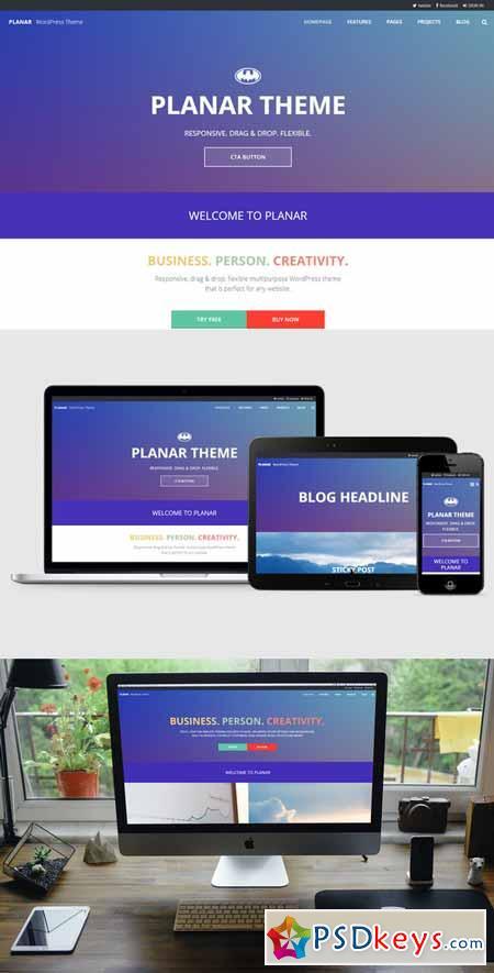 Planar A Business & Portfolio Theme 385961