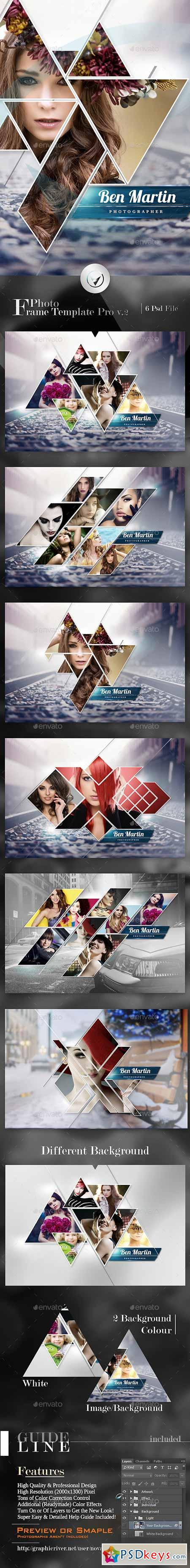 Photo Frame Template Pro v.2 13207696