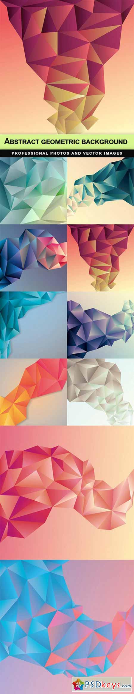 Abstract geometric background - 10 EPS