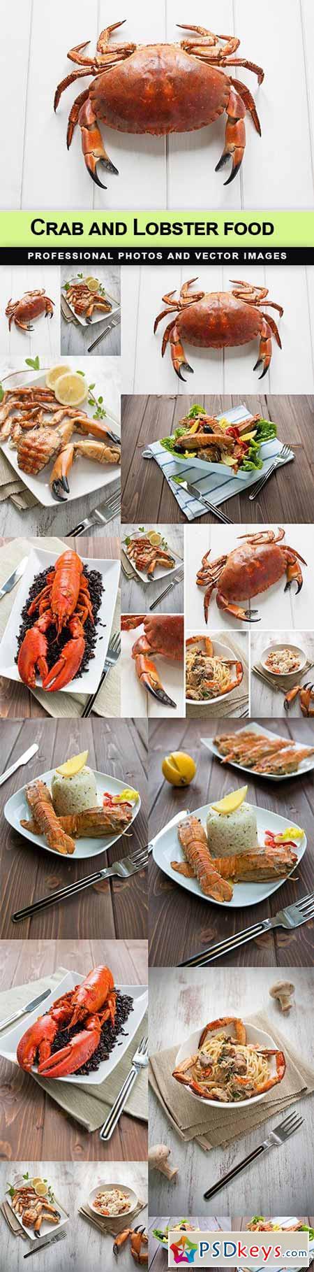 Crab and Lobster food - 15 UHQ JPEG