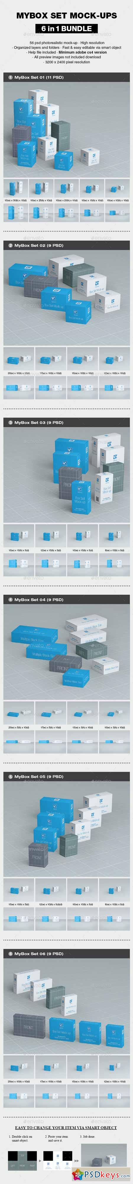 MyBox Set Mock-up Bundle 13179730