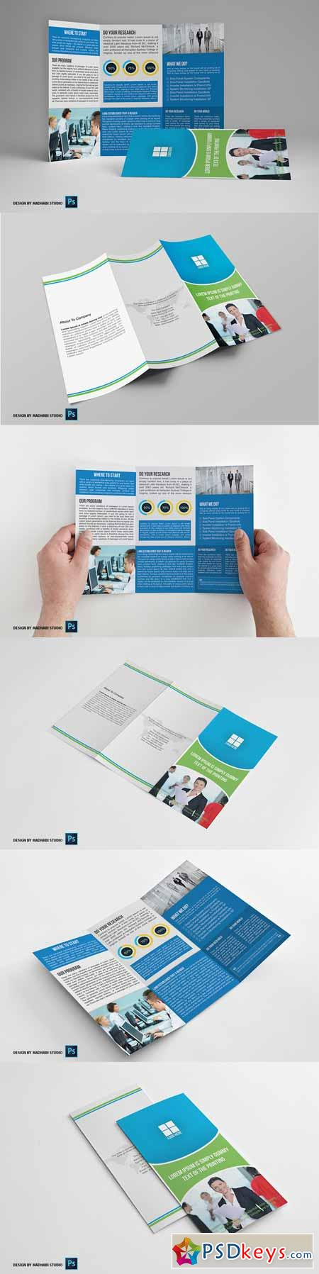 Trifold Business Brochure Vol04 399624