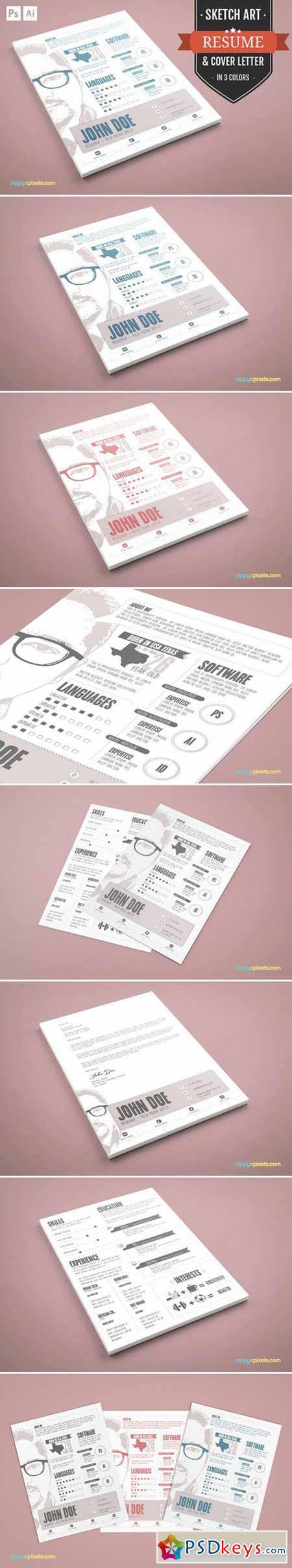 Graphic Designer Resume CV Template 394675