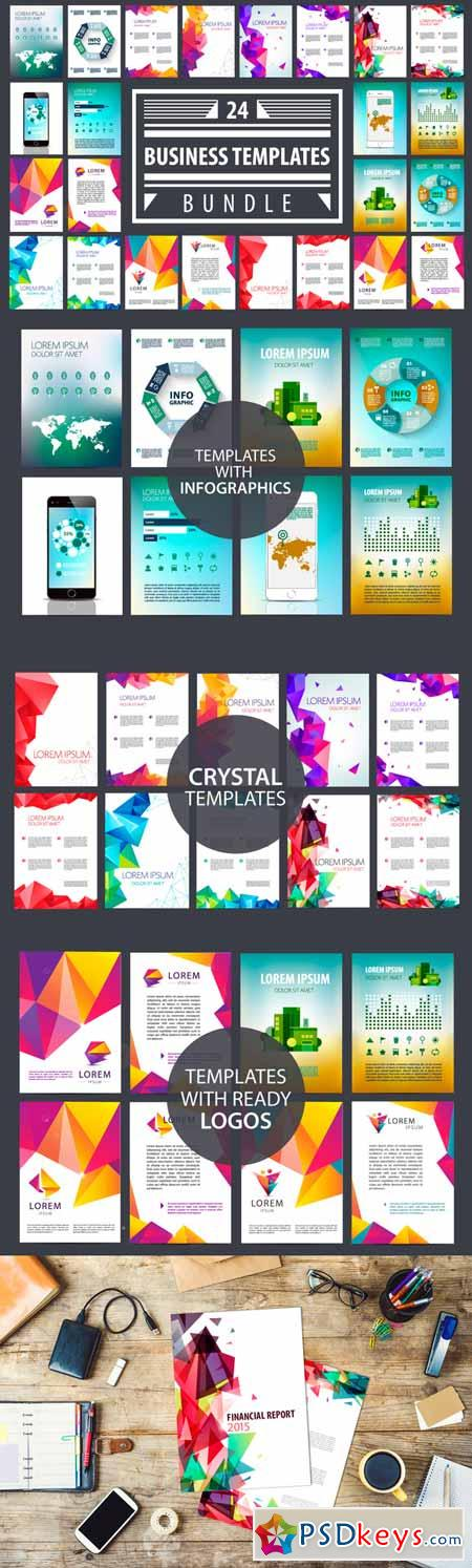 Business Templates Brochures Bundle 395995