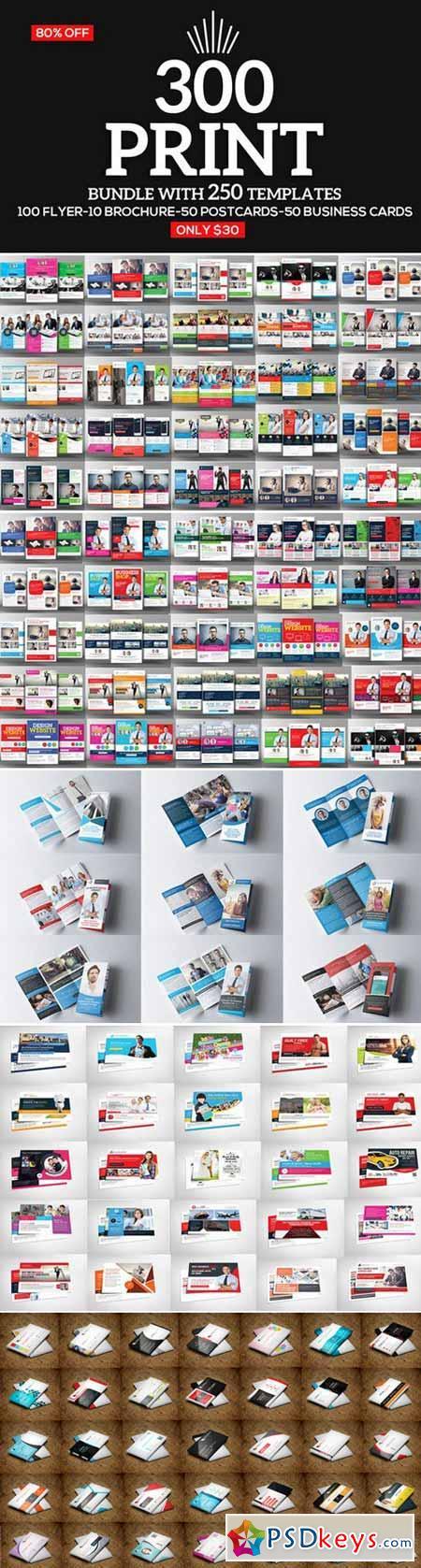 300 Print Templates Bundle 396011 Update!