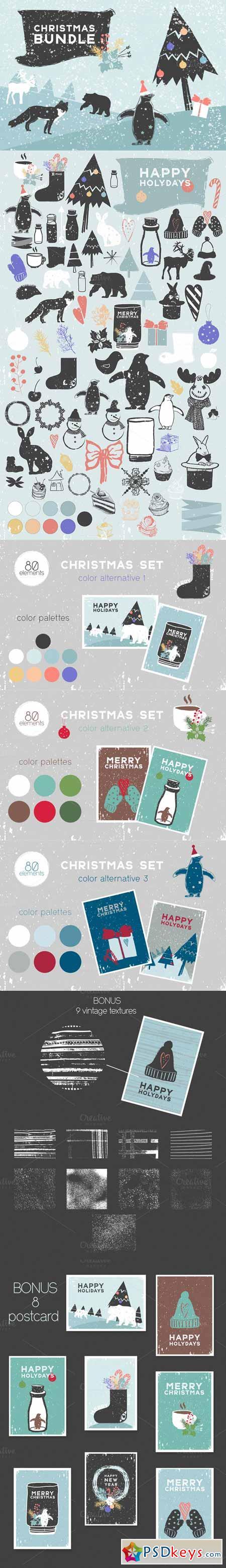 Big christmas set 395545