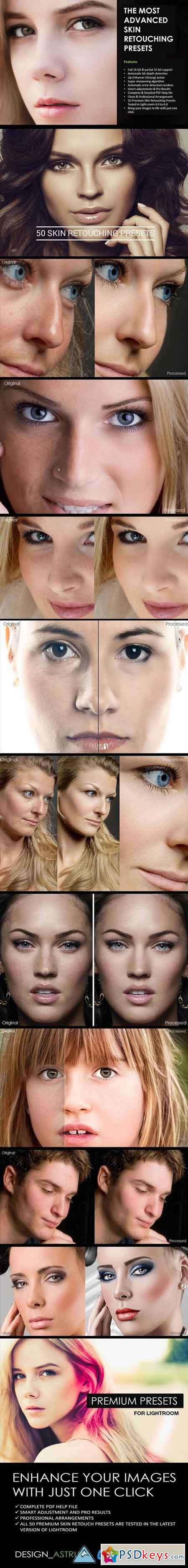 50 Most Advanced Skin Retouching Lightroom Presets 13227899