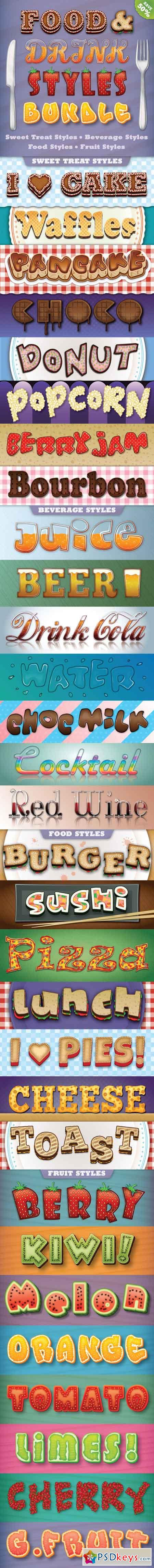 Food and Drink Styles Bundle 12286206