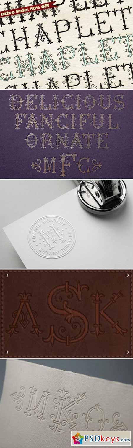 MFC Chaplet Monogram 402094