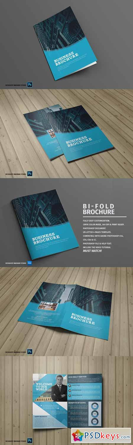 Corporate Bifold Brochure Vol 08 401681