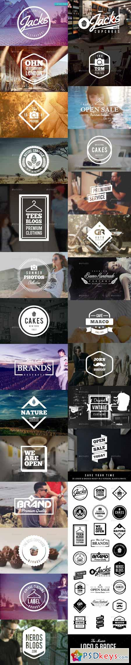 25 Logos and Badges Vol. 1 12271735