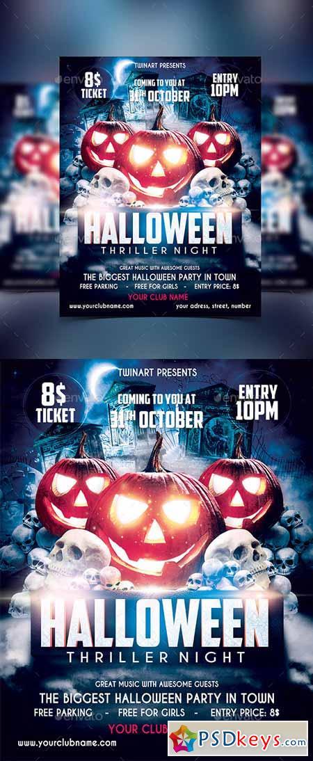 halloween party flyer 13220615 - Halloween Party Music Torrent