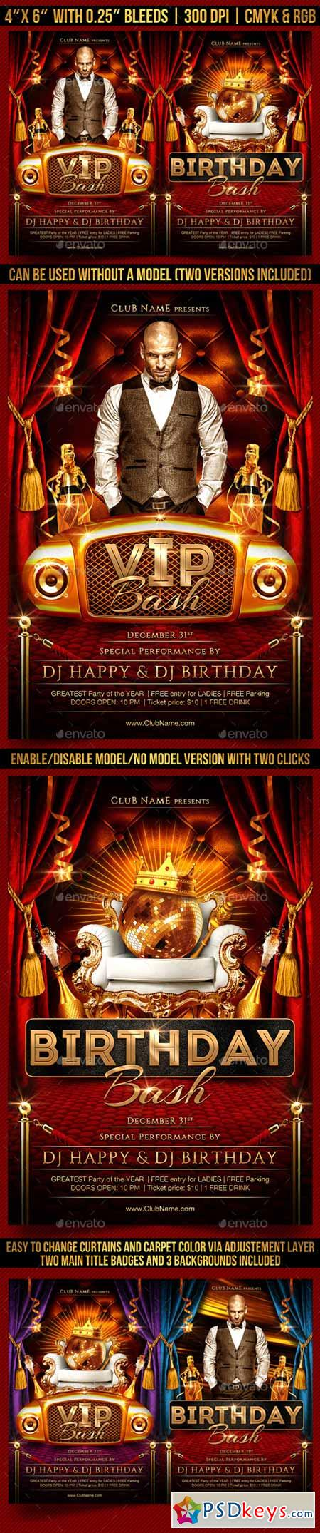 VIP Bash Flyer Template 13193302