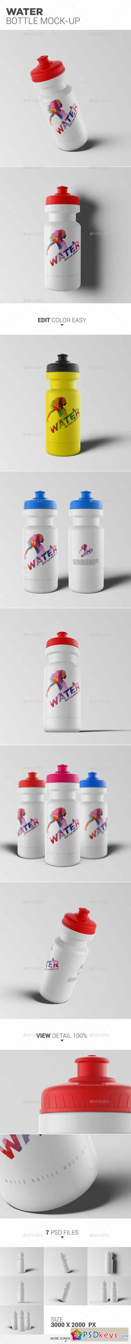 Water Bottle Mock-Up 13276653