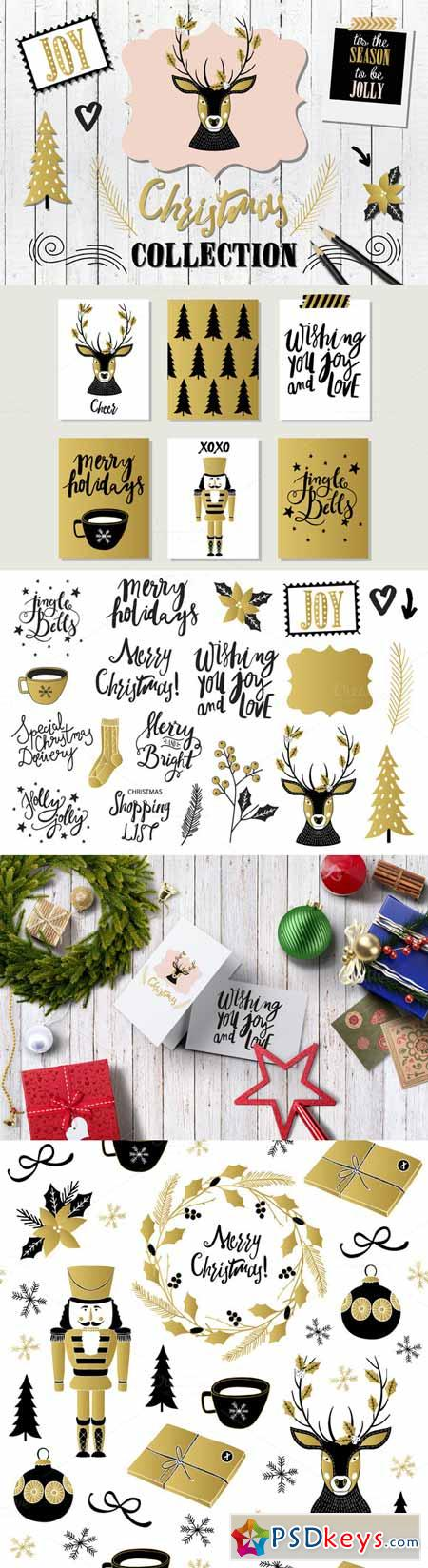 Gold Christmas Collection 404416