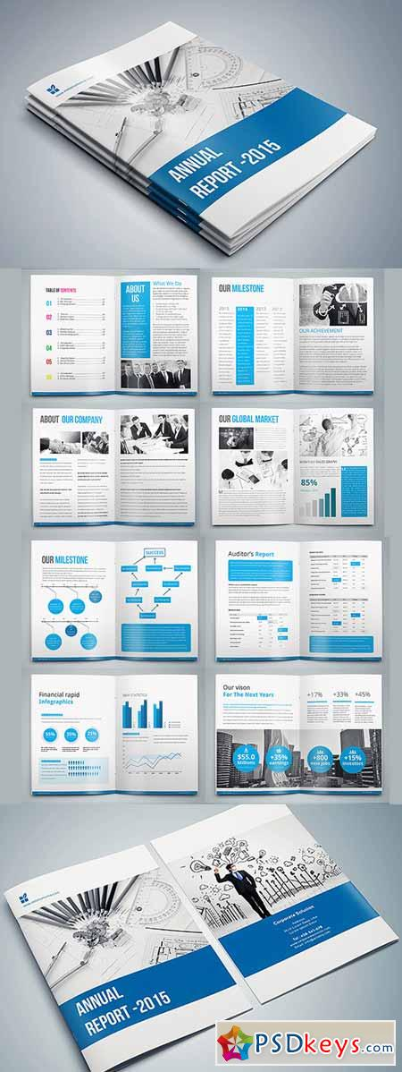 InDesign - Annual Report 405483 » Free Download Photoshop Vector ...