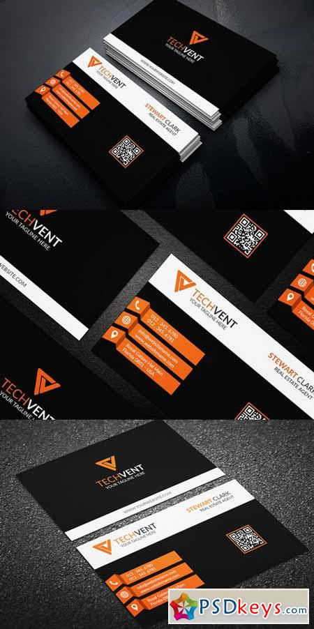 Corporate Business Card Template 388220