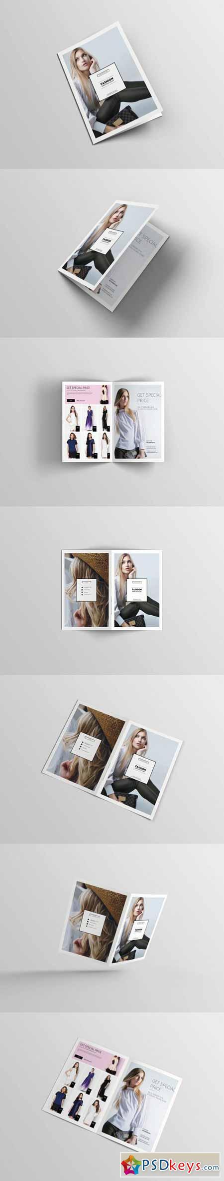 A4 Fashion Bifold Brochure 405513