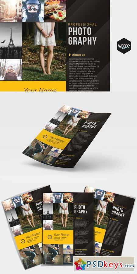 Professional Photography Flyer 405161