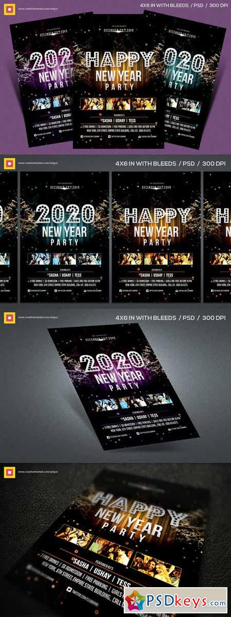New Year Party Flyer V4 403158