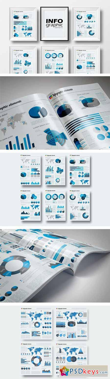 Big Set of Infographic Elements 184856