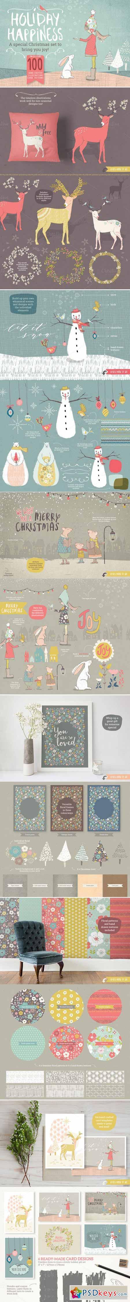 Holiday & Christmas bundle 403264