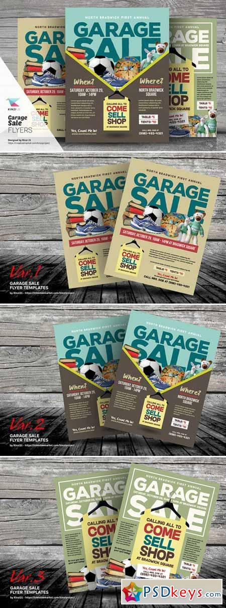 Garage Sale Flyer Templates 409703 » Free Download Photoshop