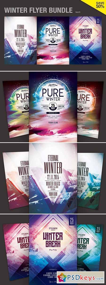 Winter Flyer Bundle Vol.01 410025