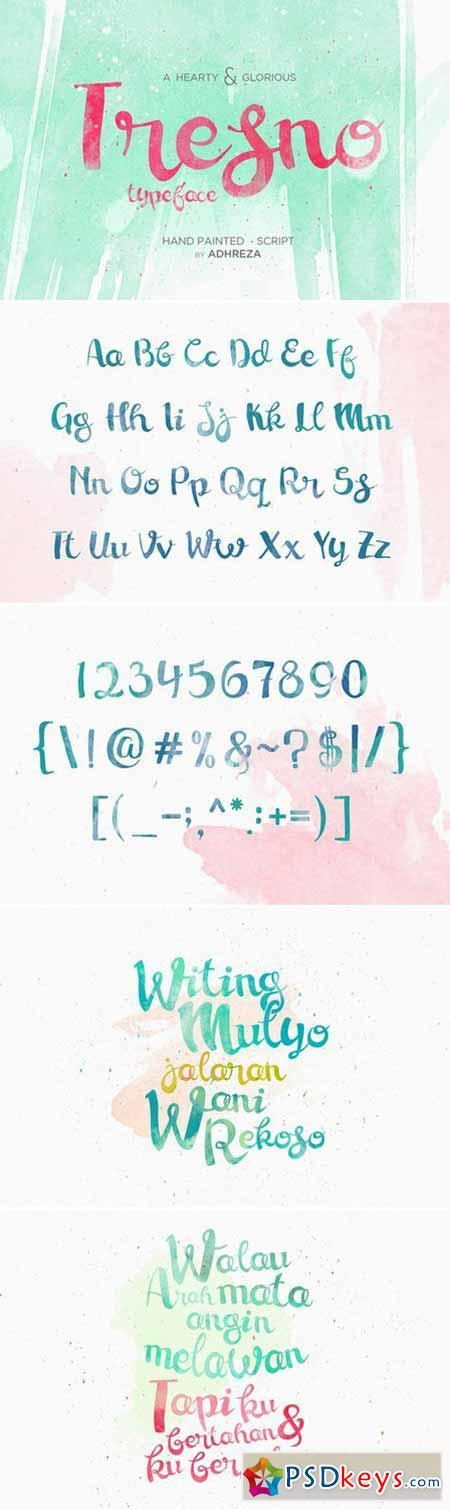 Tresno Typeface 407247