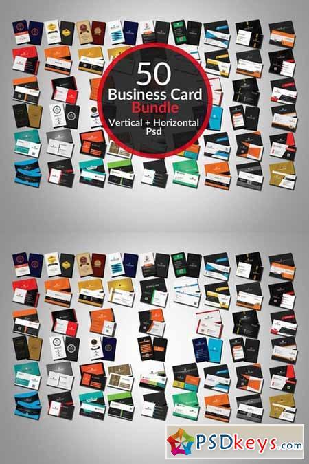 50 Creative Business card Bundle 408803
