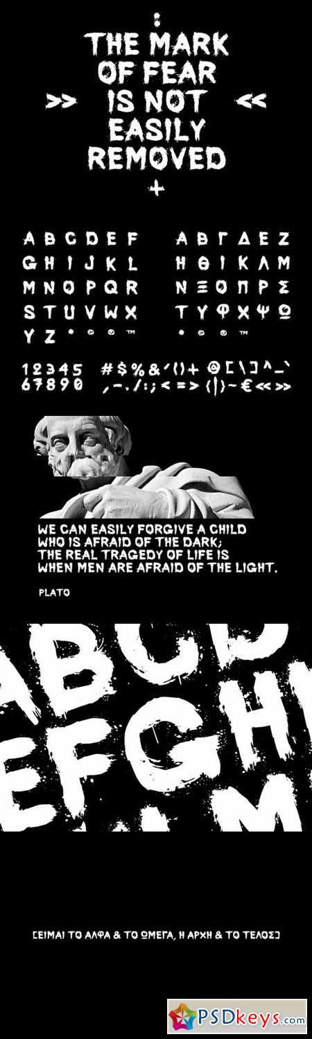 Phobos Typeface 132044