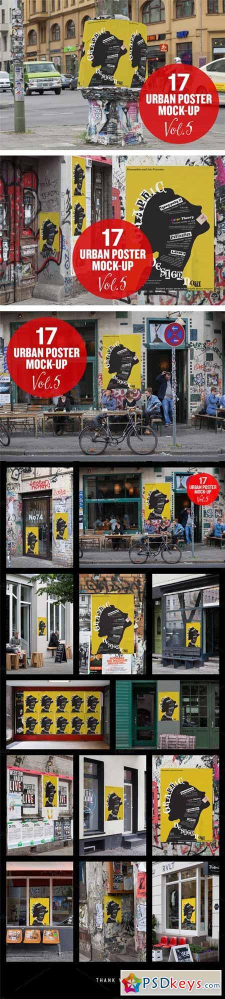 Urban Poster Mock-up VOL.5 294206