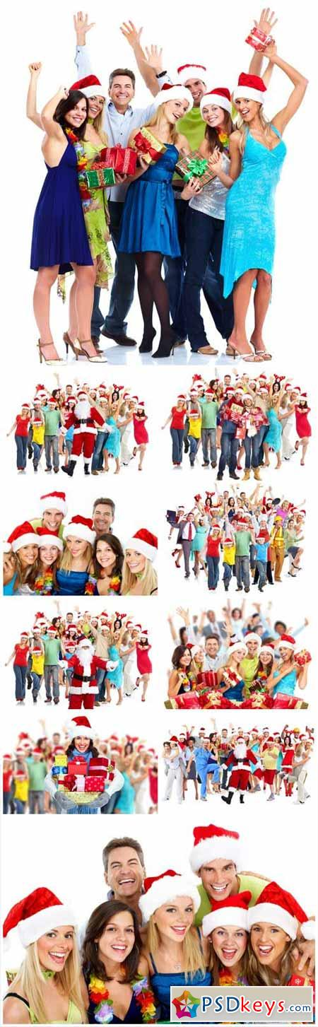 People and the New Year, Christmas