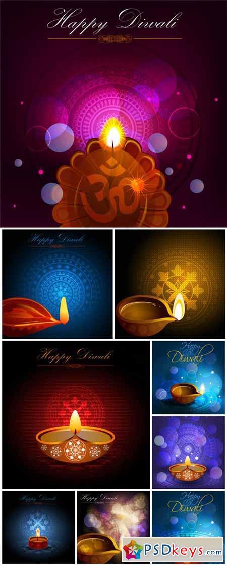 Diwali Celebration vector background