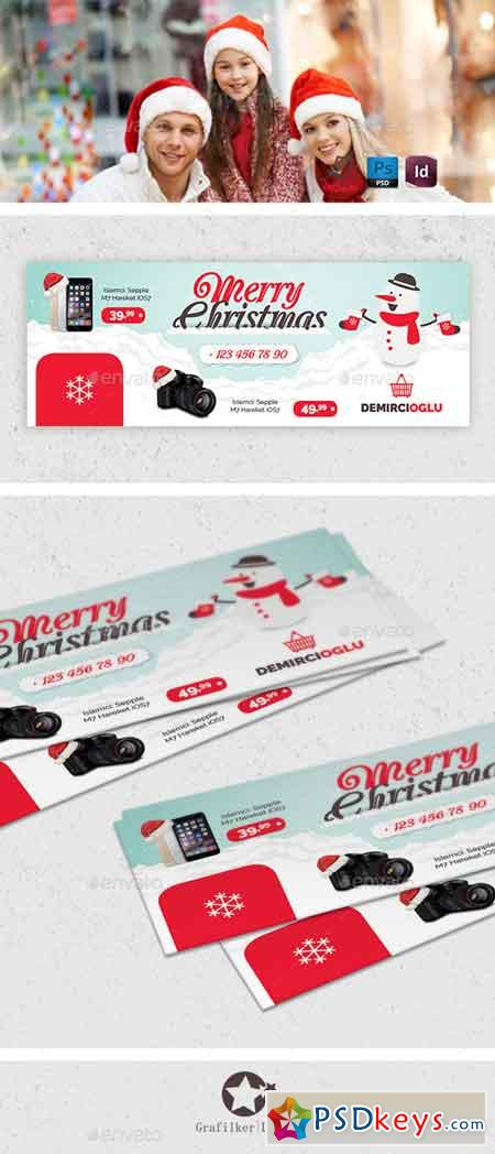 Christmas Product Cover Templates 13342946
