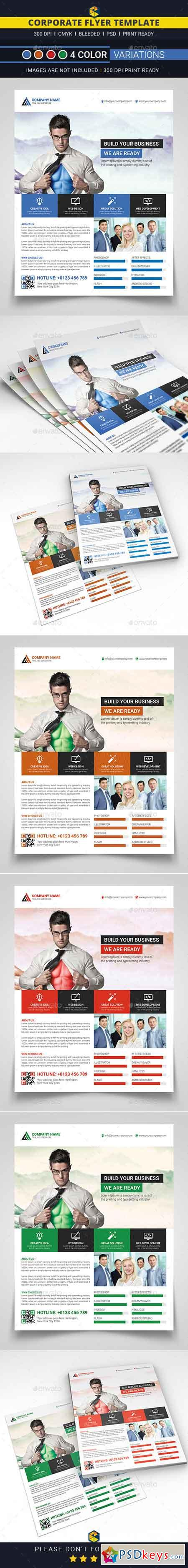 Corporate Business Flyer 12851579