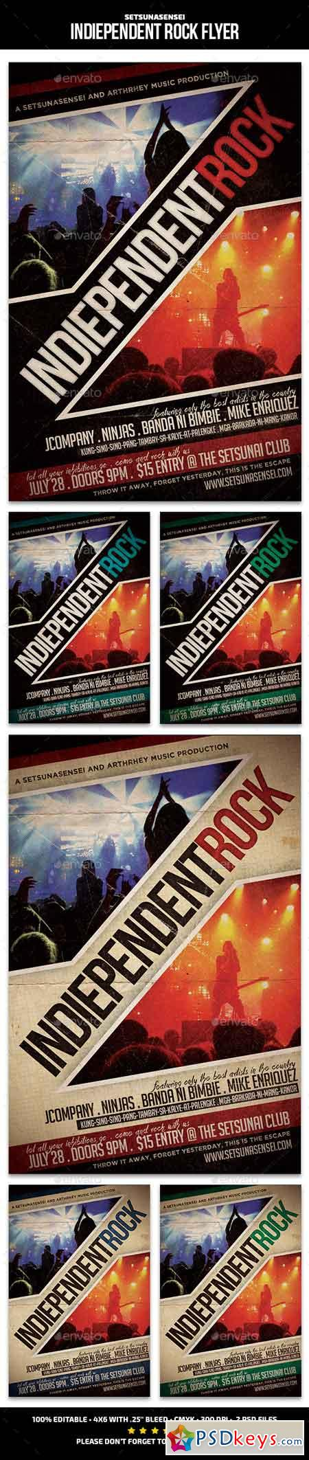 Indiependent Rock Flyer 11922983