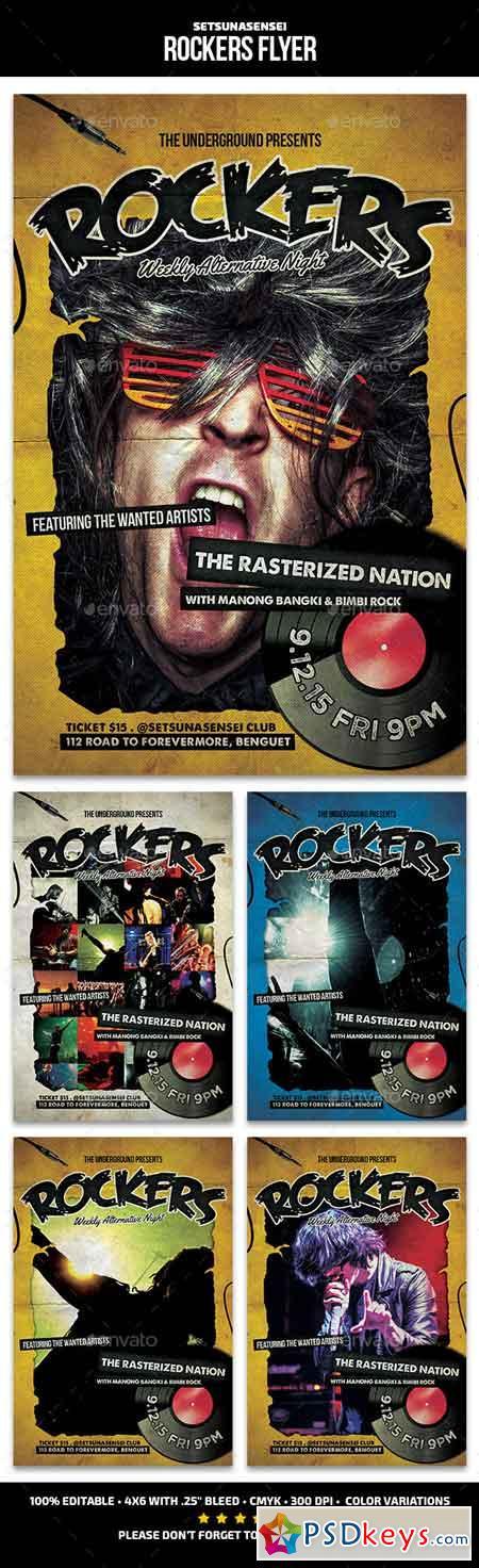 Rockers Flyer 12324242