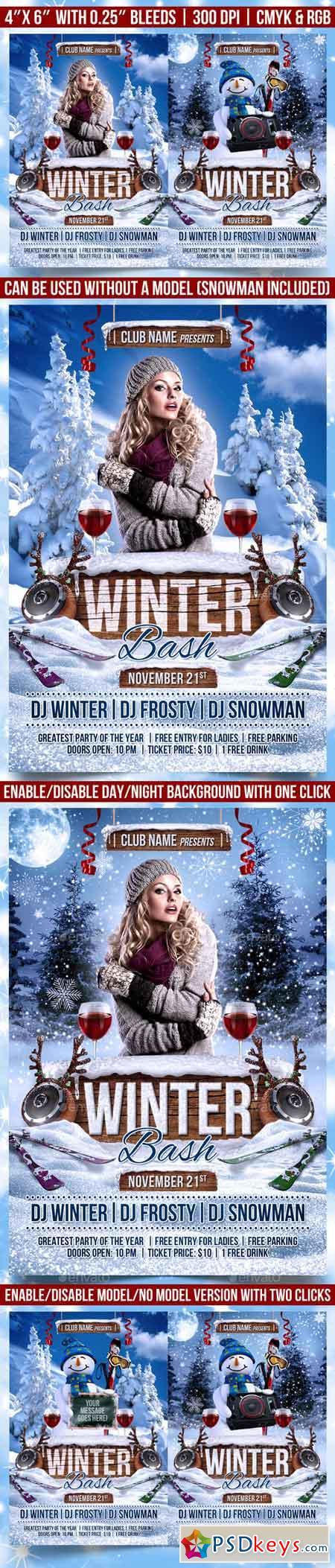 Winter Bash Flyer 13343484