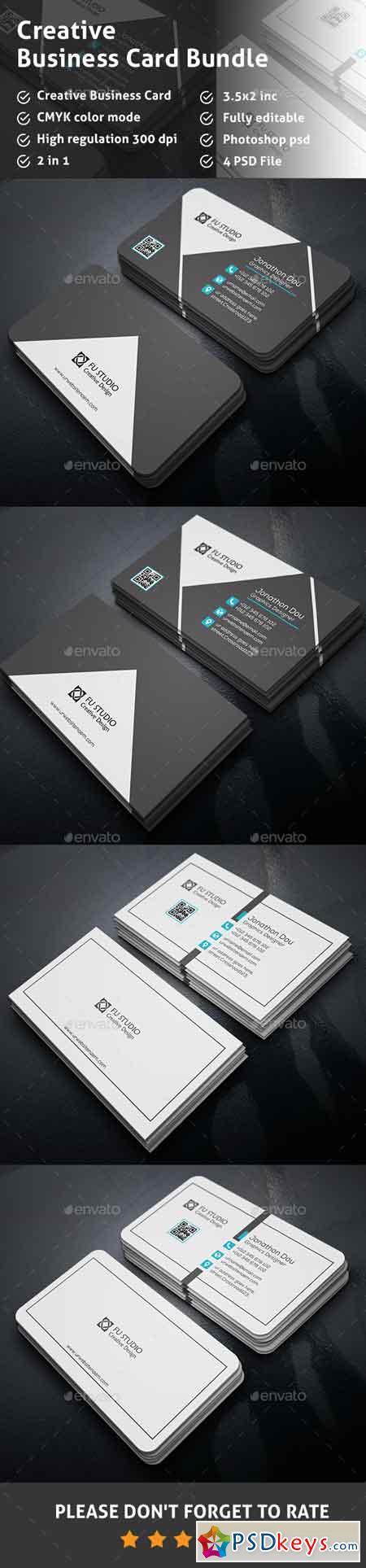 Business Card Bundle 13338060