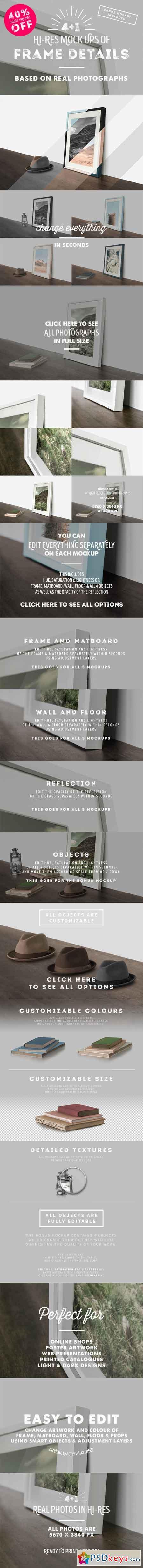 4 Frame Detail MockUps + Bonus 399040