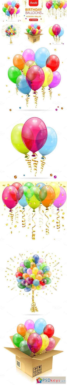 Birthday Balloons 412172