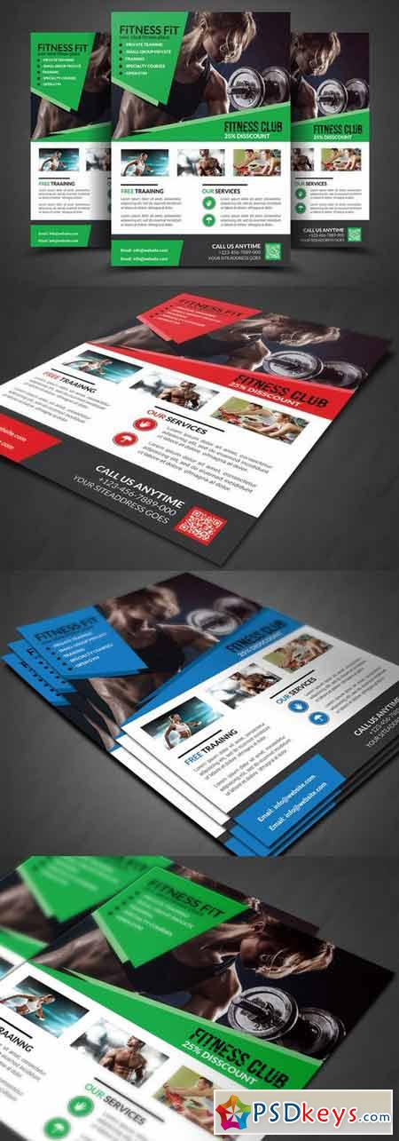 Fitness Flyer - Gym Flyer Templates 400337