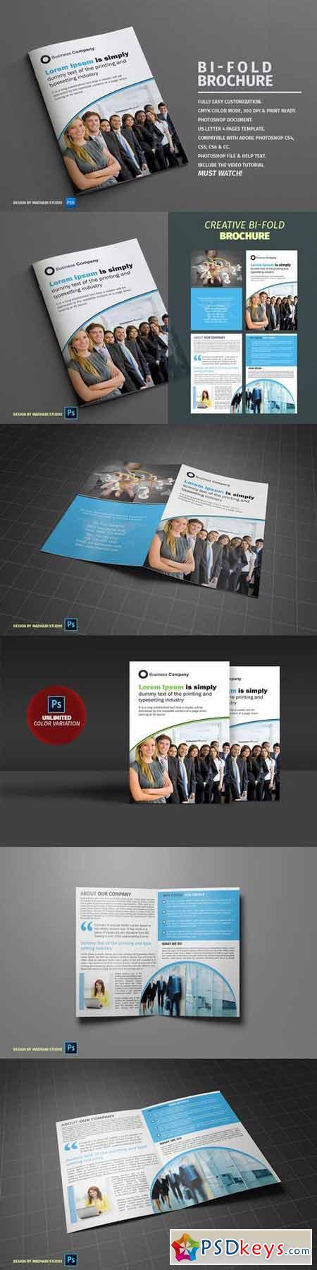Corporate Bifold Brochure Vol 07 398649