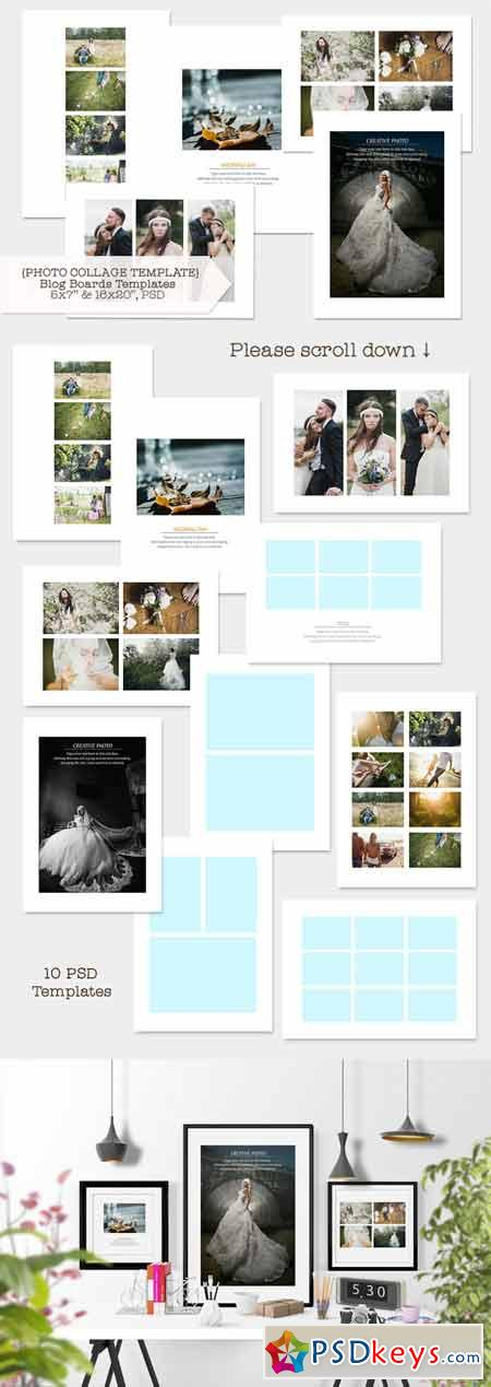 Photo Collage Template 398771