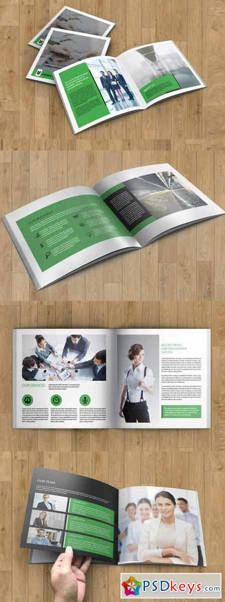 InDesign Corporate Brochure-V164 353364