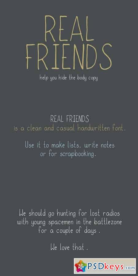 Real Friends 58482