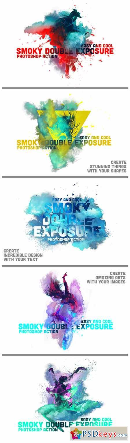 Smoky Double Exposure 13346220