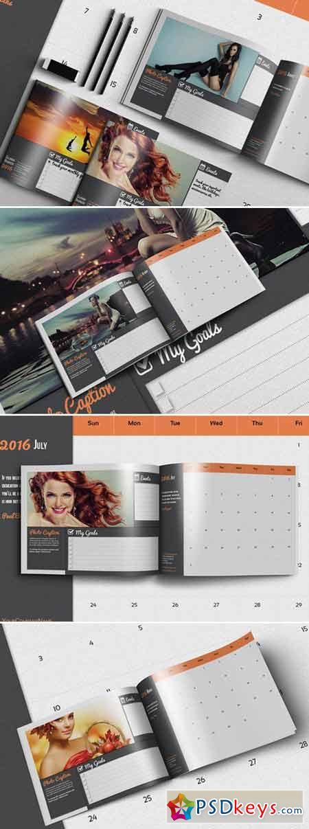 Calendar Organizer 2016 Template 412536